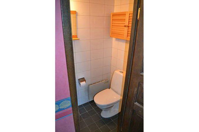 eines der beiden WCs im Haus