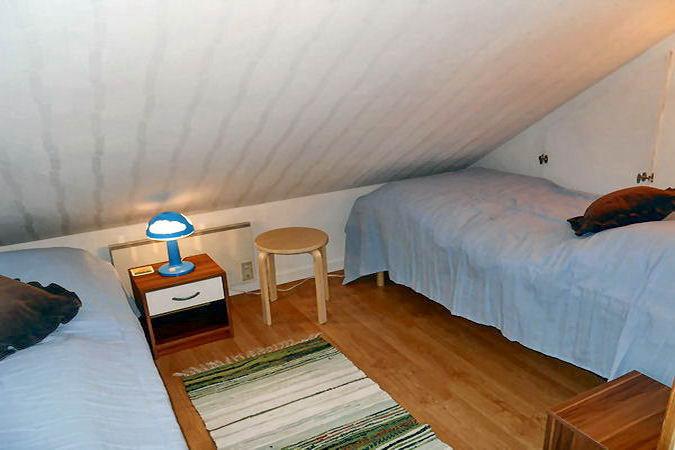 Schlafnische mit 2 Einzelbetten