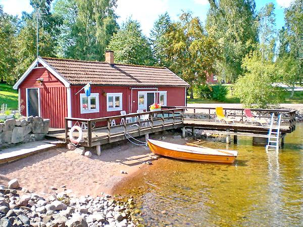 """Haus """"Sjöstuga"""" auf dem Ribbingshof"""