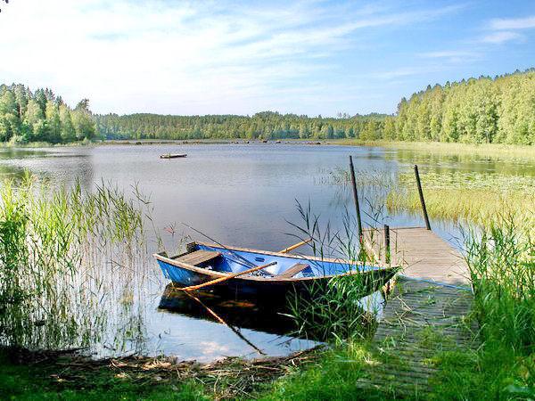 Boots- und Badestelle am See (mit Grillplatz)
