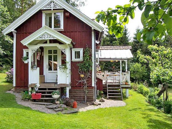 Schwedenhaus mit veranda  Ferienhäuser in Schweden - Schwedenhaus Vermittlung -