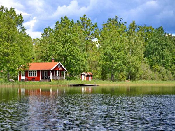 Traumhafte Lage direkt am großen See!