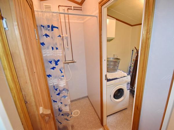 WC im Sauna-Haus (+ Dusche separat)
