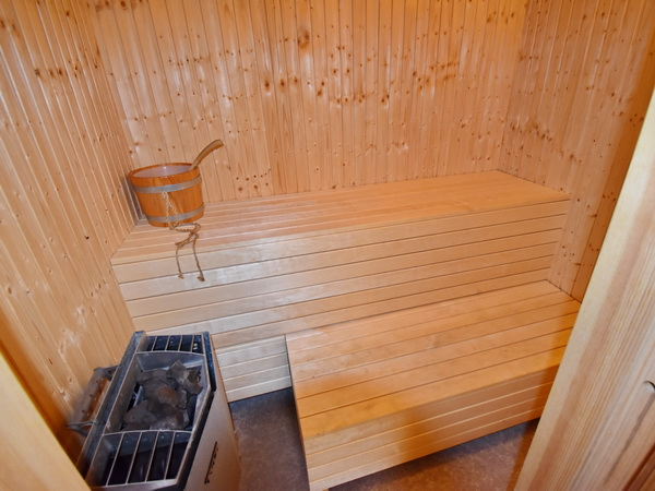 Sauna im Gästehaus