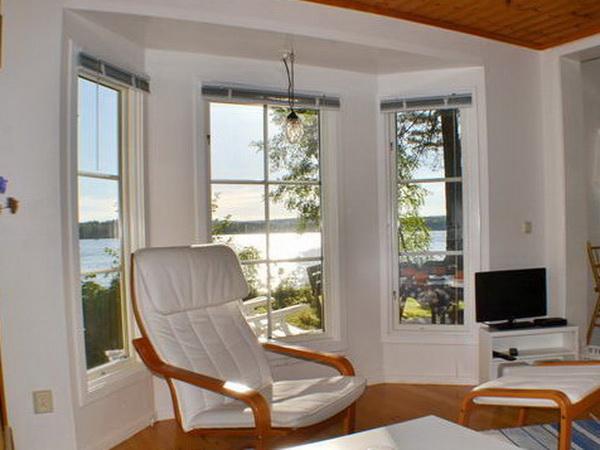 Toller Seeblick aus dem Wohn- und Esszimmer