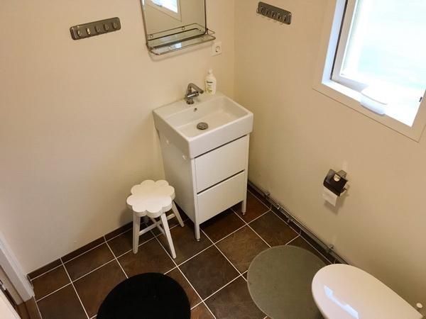 Bad mit WC und Dusche (neu 2017)