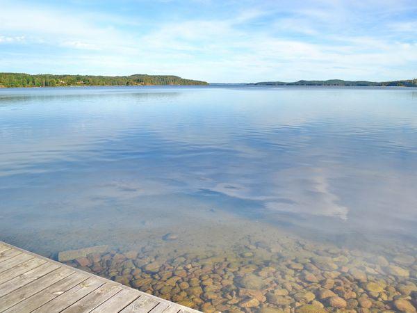 Blick über den riesigen See