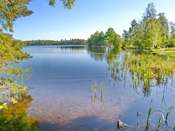 Badestelle am See mit herrlich klarem Wasser!