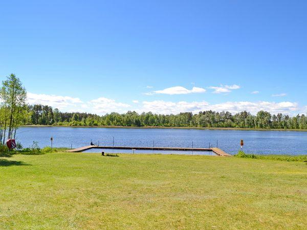 schöner Badeplatz am See (ca. 3.500 m vom Haus)
