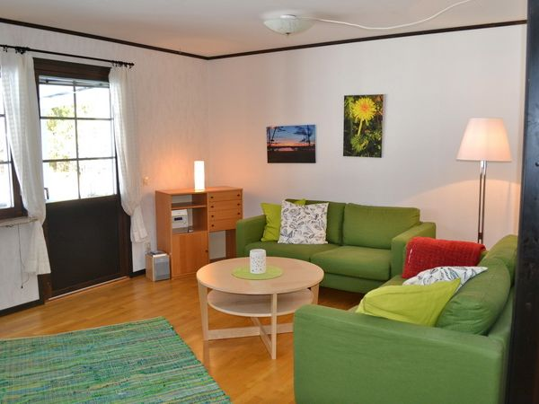 Wohnzimmer mit Kamin und deutschem Sat-TV (fehlt nur im Bild)