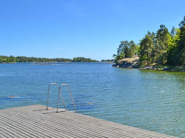 nur 200m Fußweg zum Boots- und Badeplatz an der Ostsee!