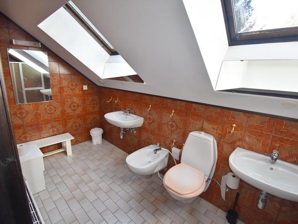 Bad mit WC und Dusche im Obergeschoss