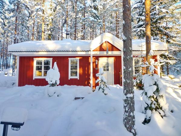 """Auch für einen Winterurlaub ist die """"Villa Bumling"""" sehr gut geeignet!"""