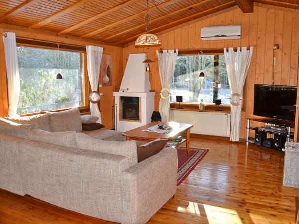Wohnzimmer, großes Haus