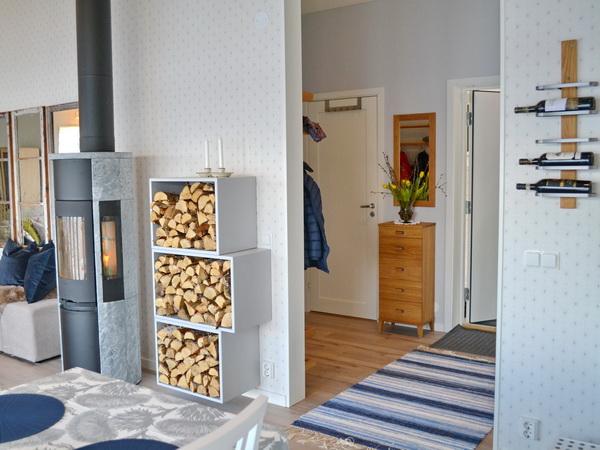 Eingangsflur und Wohnzimmer