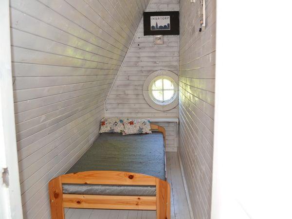 """Schlafzimmer 4 mit Einzelbett (""""Schlafkammer"""")"""