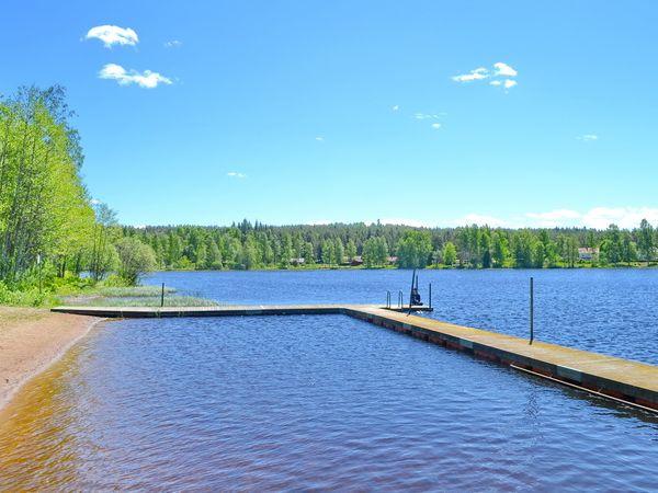 die schöne Badestelle am See (nur 400m vom Haus!)