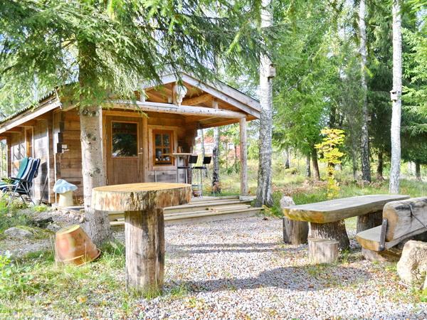 die vor Ort bei den Eigentümern zubuchbare Sauna