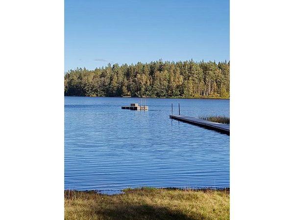 Badestelle am See (4,5 km vom Haus entfernt)