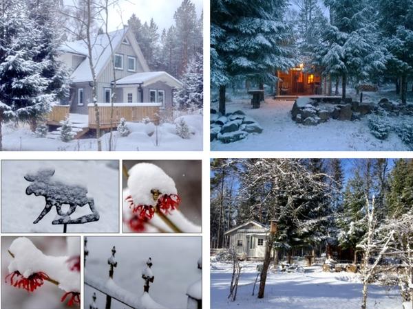 """Auch im Winter können Sie im Haus """"Lilly Eringsboda"""" einen schönen Urlaub verbringen!"""