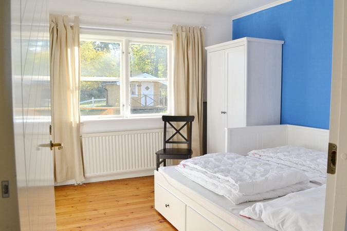Schlafzimmer Nr. 2 mit Doppelbett
