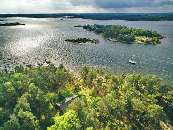 Blick auf das Haus in Traumlage direkt an der Ostsee!