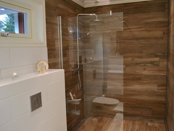 Badezimmer 1 mit WC und Dusche