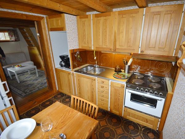 Küche (zubuchbares Gästehaus)