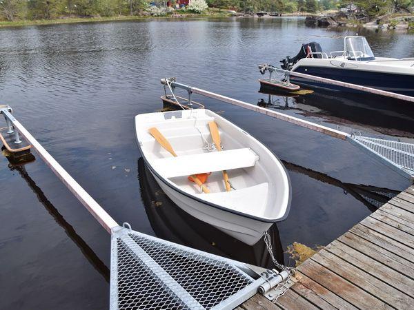 das hauseigene Ruderboot