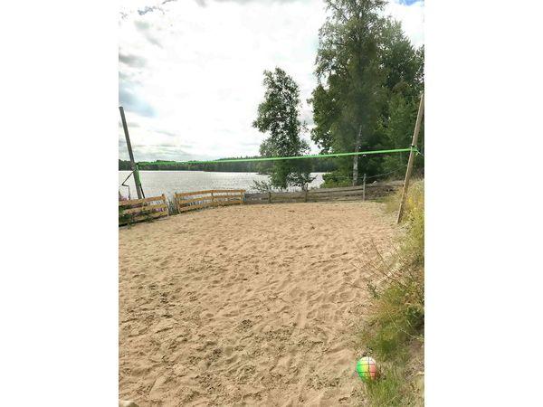 eigenes Volleyballfeld