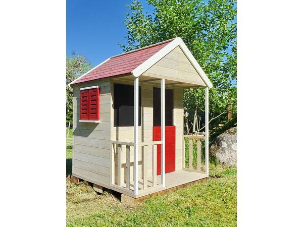 Spielhaus für Kinder im Garten