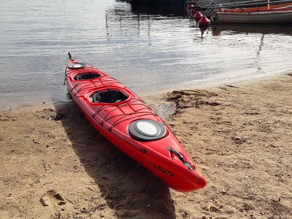 Auf Wunsch vor Ort zubuchbar: Ein 2-Sitzer-Seekajak