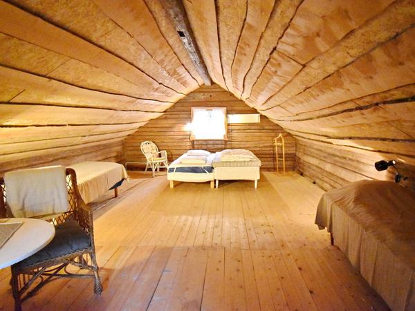Schlafboden im Obergeschoss