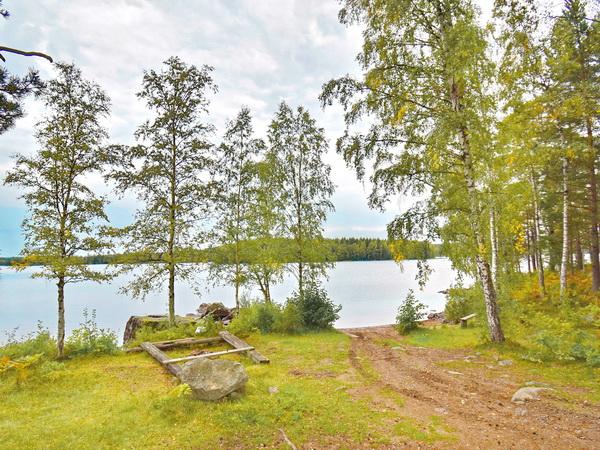 Badestelle am See (nur 100m vom Haus entfernt)