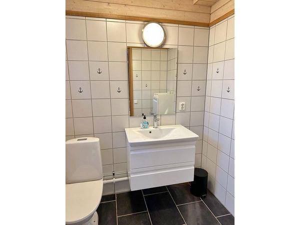 WC im Erdgeschoss (Bild des separaten Badezimmers mit Dusche folgt)