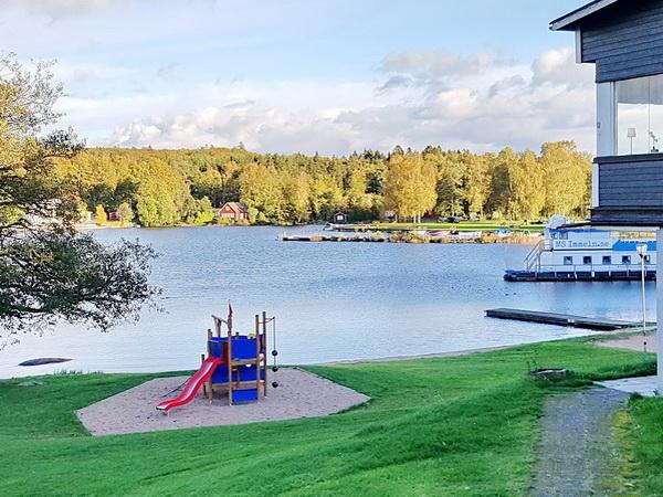 Badestelle am See (nur 300m vom Haus entfernt!)