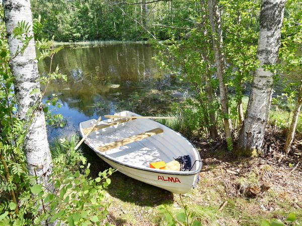 Am See, nur 150m vom Haus entfernt! (Bilder des hauseigenen Ruderbootes folgen)