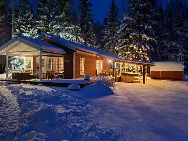 """""""Älgbacken"""" im Winter"""