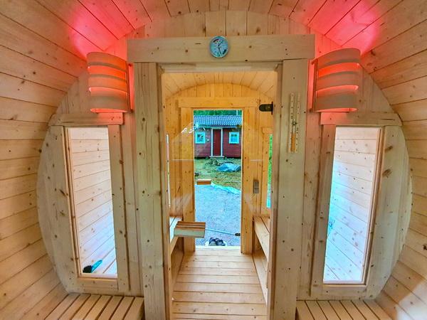 Sauna mit Vorraum