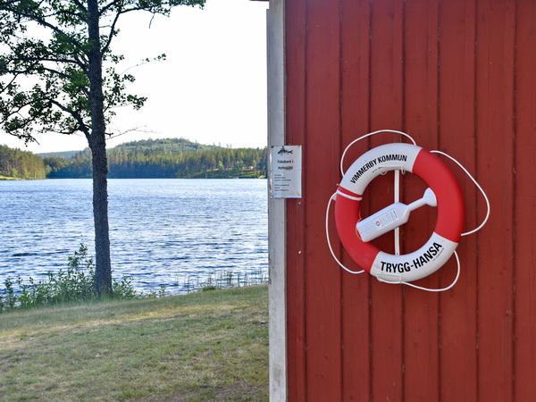 kinderfreundlicher Badesee (6 km vom Haus entfernt)