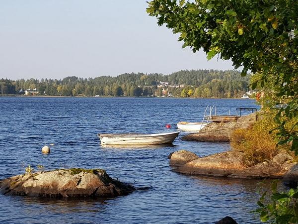 """Der """"Virserumssjön"""" ist auch ein gutes Angelgewässer!"""