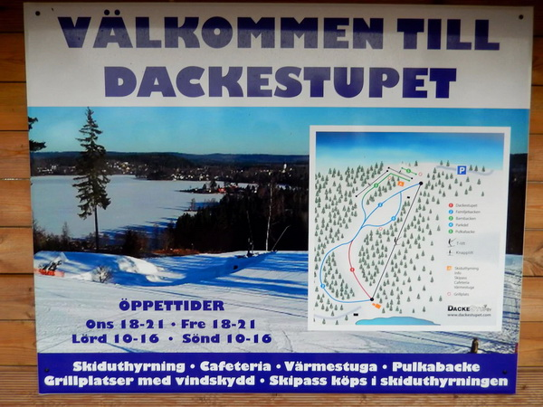In kalten Wintern können Sie hier wunderbar mit der Familie Ski fahren!