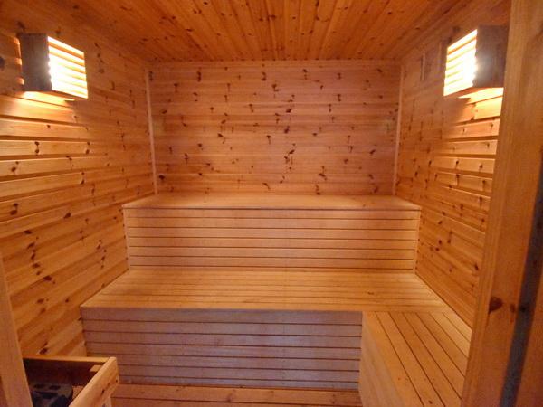 Sauna im Bootshaus