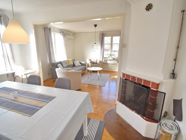 schöne Badestelle am See (2,8 km vom Haus)
