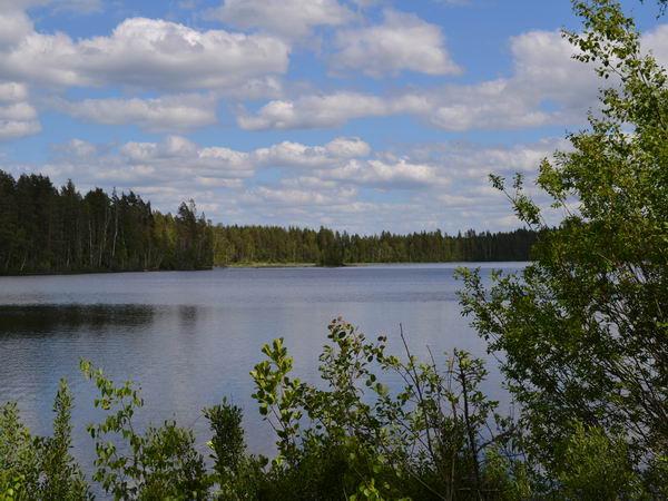 Blick über einen der beiden Seen