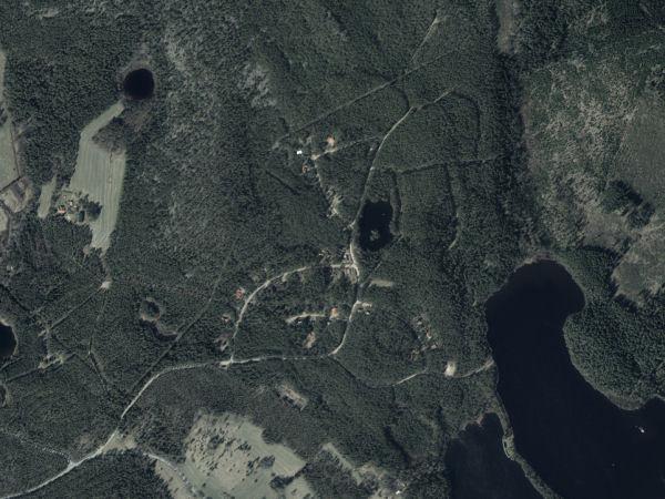Satellitenaufnahme des Gebietes